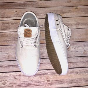 """Vans size 11.5 off white """"chima"""" sneakers"""